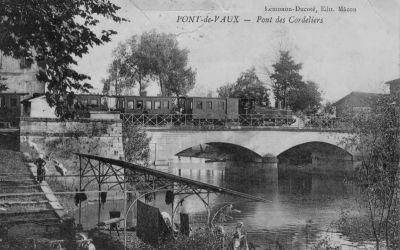 Le pont des Cordeliers sur la Reyssouze