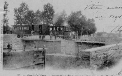 Porte de garde à l'entrée du canal de Pont-de-Vaux