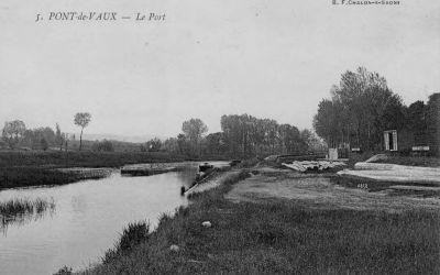 Le port de Pont-de-Vaux