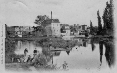 Le moulin de Pont-de-Vaux sur la Reyssouze